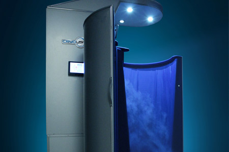 Cryotherapy Philadelphia Booth 2